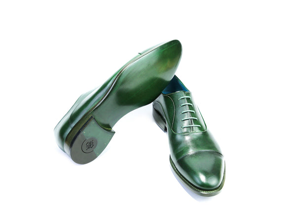 44 EEE CLASSIC SHOES, GREEN PATINA - READY TO WEAR