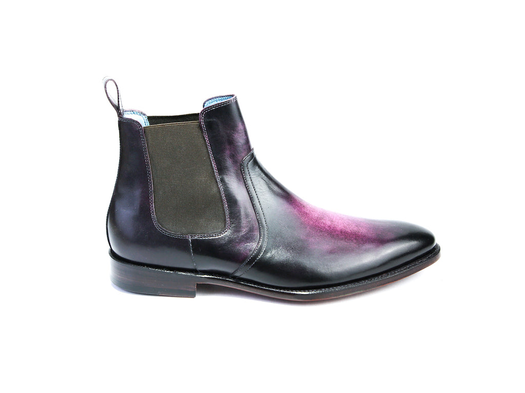 44 EEE GAUCHO BOOTS PURPLE PATINA - READY TO WEAR