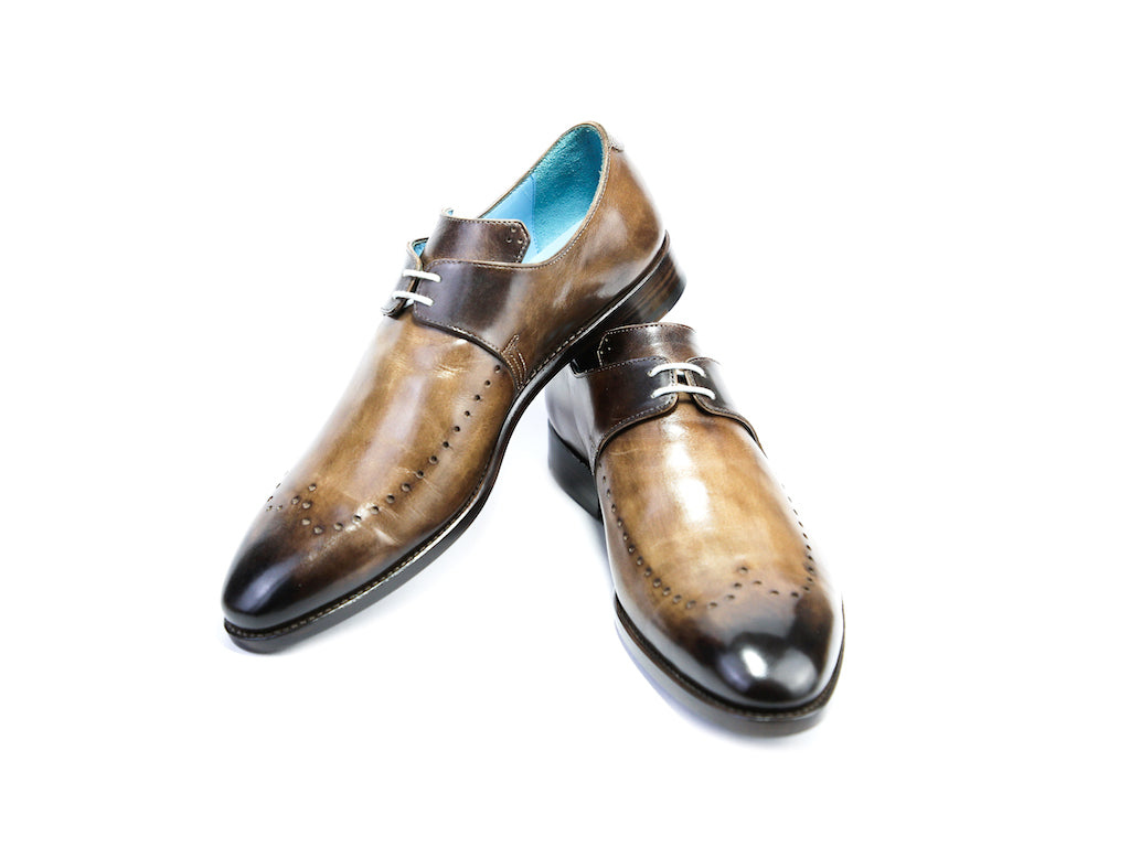 44 EEE PHSAR DEK SHOES - BROWN PATINA - READY TO WEAR