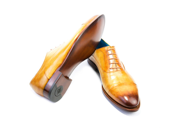 47 EEE CLASSIC SHOES, HARVEST GOLD PATINA - READY TO WEAR