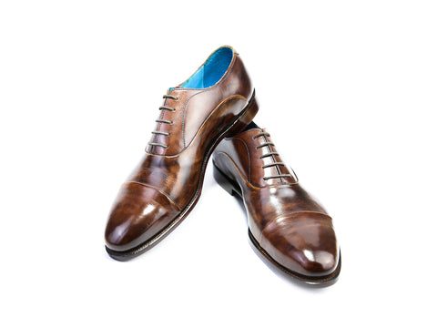 48 EEE CLASSIC SHOES, MEDIUM BROWN PATINA - READY TO WEAR