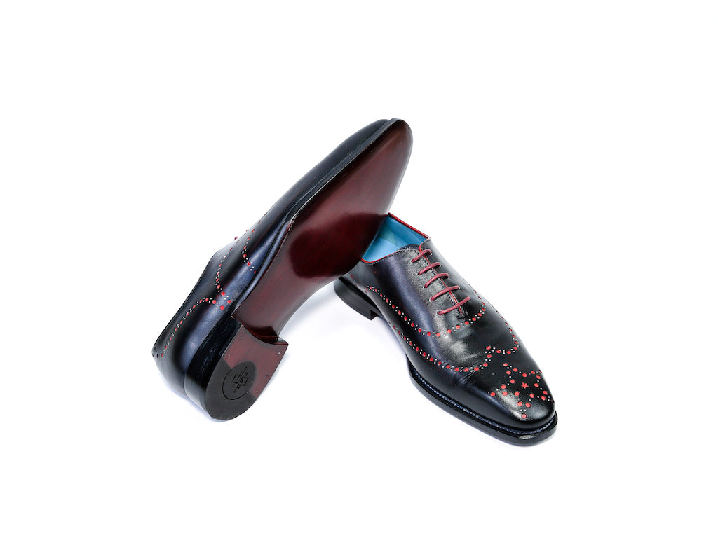 ARISTOCRAT SHOES, BLIND BROGUE BLACK - READY TO WEAR