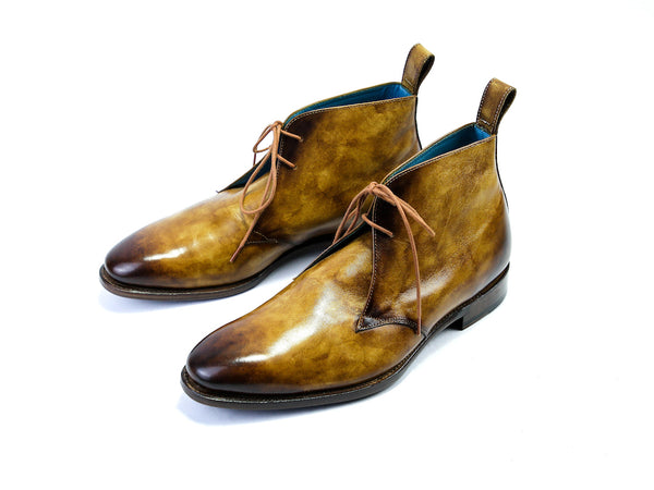 MADE TO ORDER CHUKKA BOOTS OAK PATINA