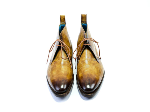 CHUKKA BOOTS - OAK PATINA - READY TO WEAR (42 EEE)