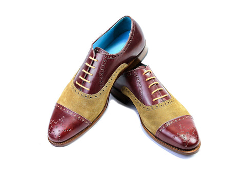 Citizen-Oxford-brogue-shoes-burgundy-tan-suede-42EEE-01