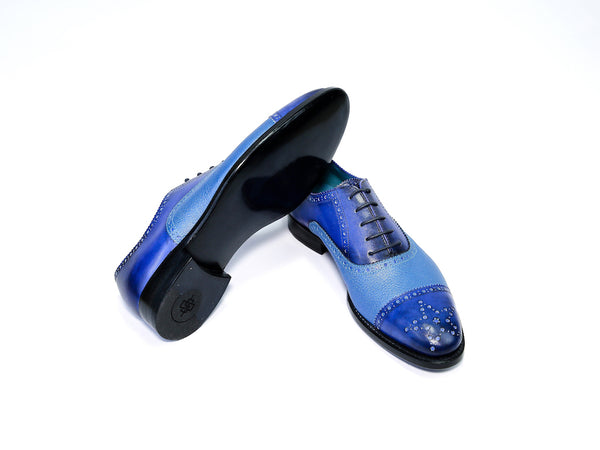 CITIZEN SHOES, LIGHT BLUE & NAVY BLUE - READY TO WEAR