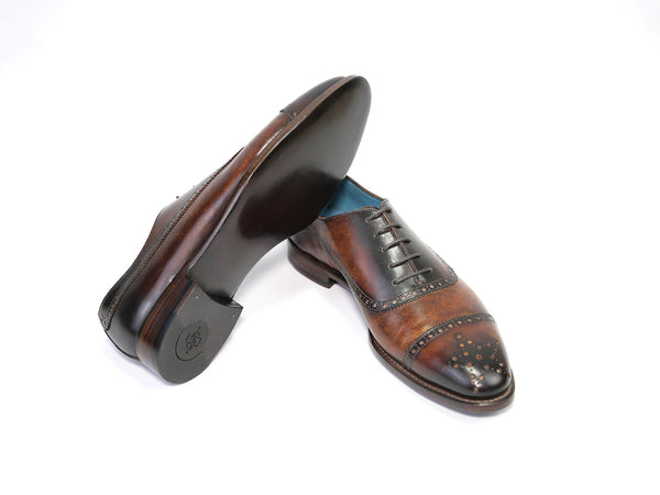 CITIZEN SHOES BROWN PATINA READY TO WEAR
