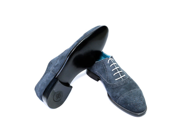 CITIZEN SHOES BLUE SUEDE READY TO WEAR