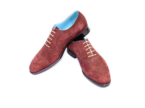 CITIZEN SHOES, RUSSET SUEDE - READY TO WEAR