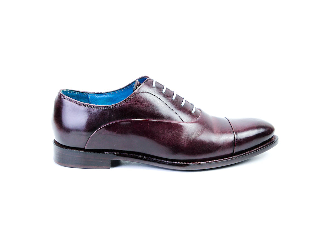 CLASSIC OXFORD SHOES BURGUNDY READY TO WEAR