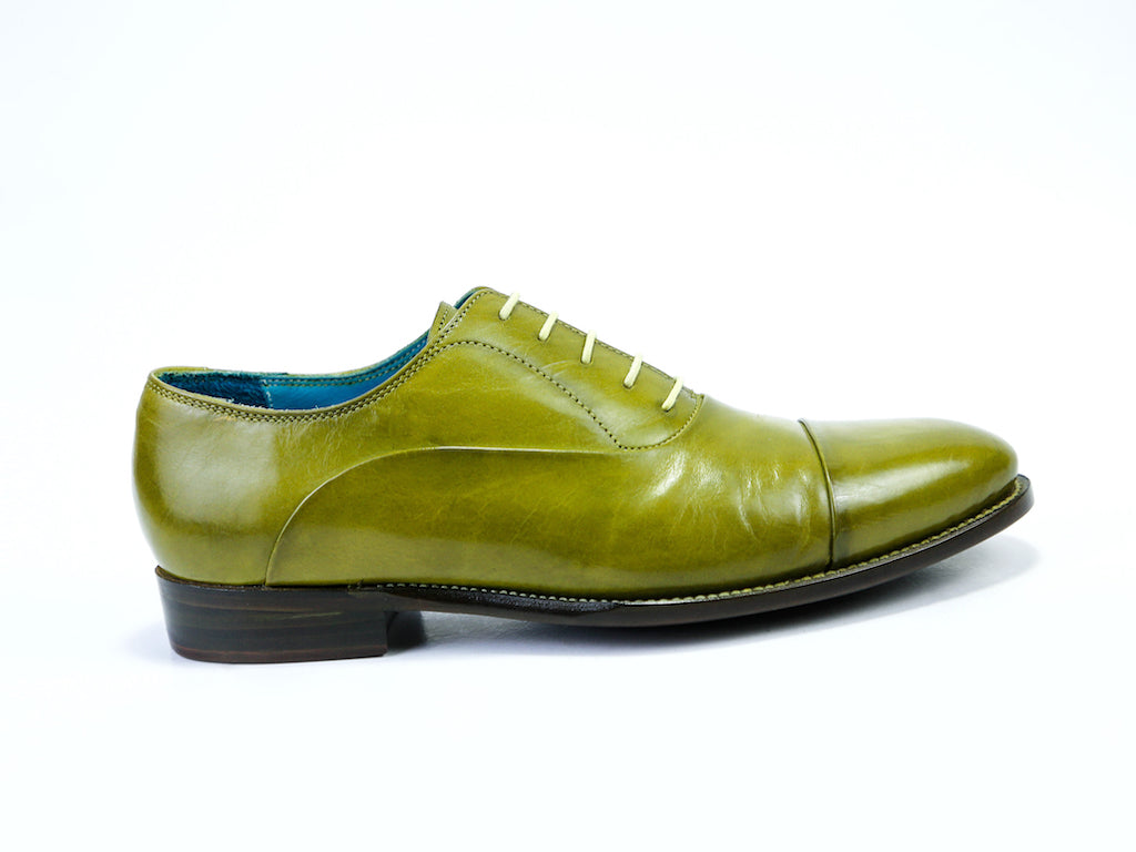 CLASSIC SHOES, LIME PATINA - READY TO WEAR (38 E)