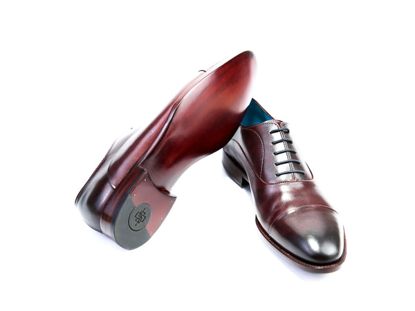 43 EEE CLASSIC SHOES, RED BROWN PATINA - READY TO WEAR