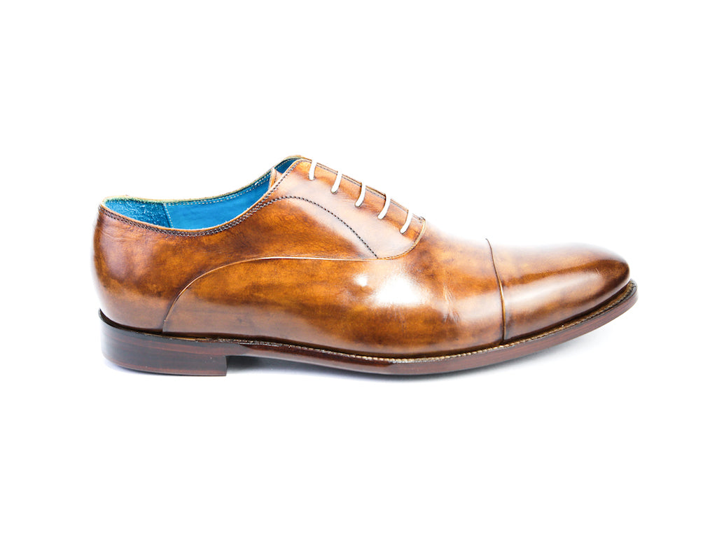48 EE CLASSIC SHOES, BROWN PATINA - READY TO WEAR