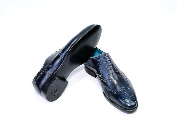 COUNTRYMAN SHOES, NAVY BLUE - READY TO WEAR