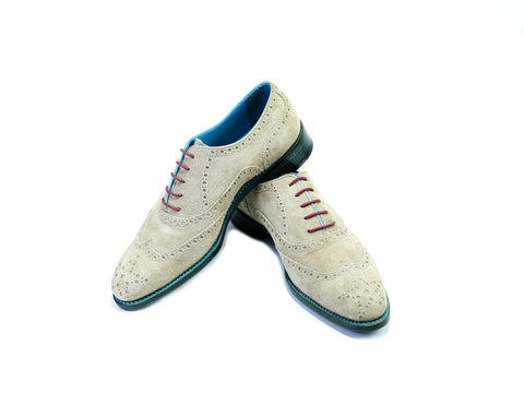 37 EE COUNTRYMAN SHOES, SAND SUEDE - READY TO WEAR