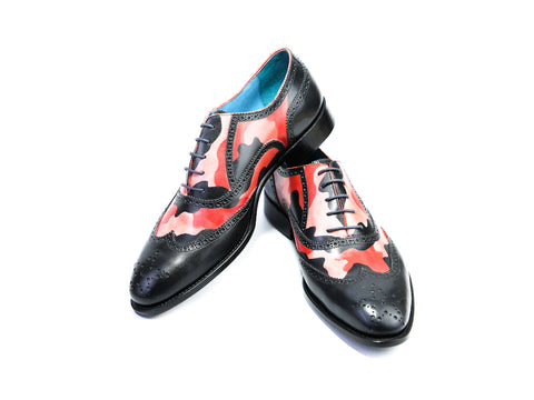 44 EEE COUNTRYMAN SHOES - URBAN CAMO PATINA - READY TO WEAR