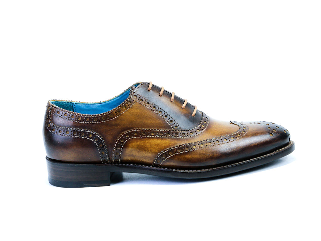 COUNTRYMAN SHOES, BROWN PATINA - READY TO WEAR (36 EE)