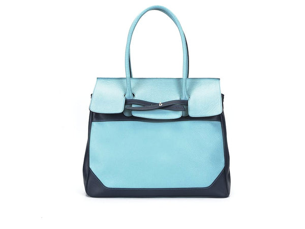 Lara unisex handbags made in Italian leather in great colors.