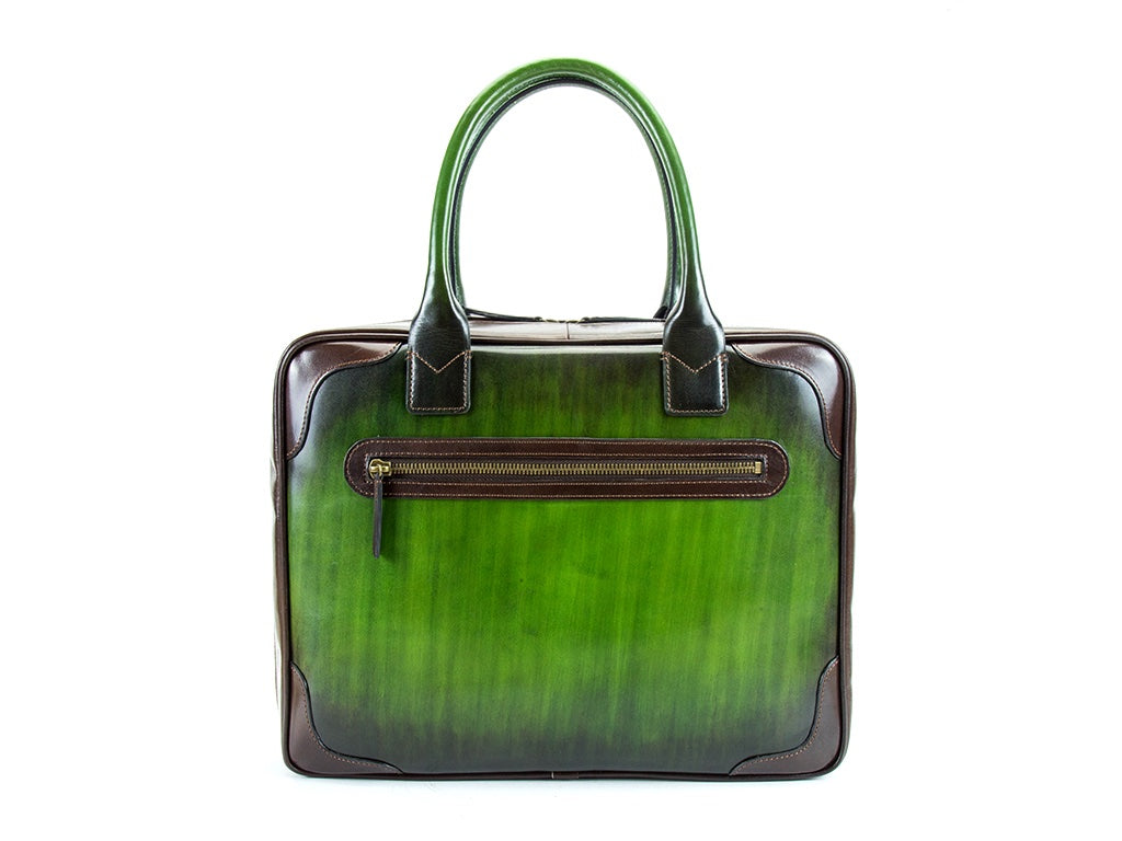 Filippini business bag made by Italy leather