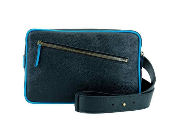 Garcon Italian pebble grain leather cross body bag