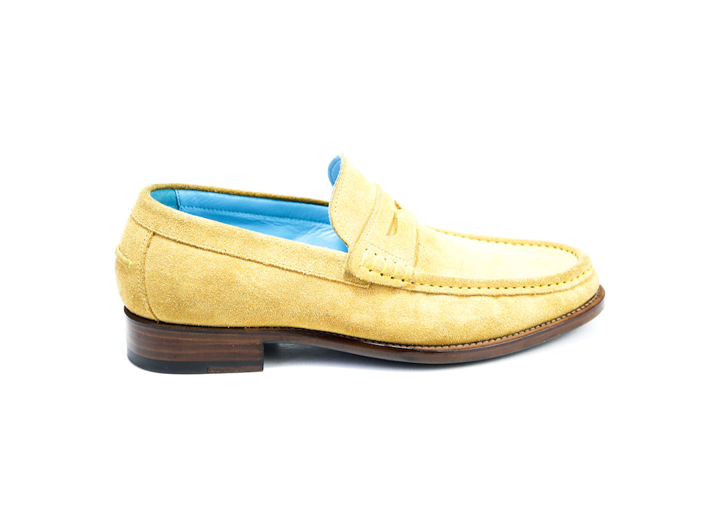 39 GEORGE PENNY LOAFERS, YELLOW SUEDE - READY TO WEAR