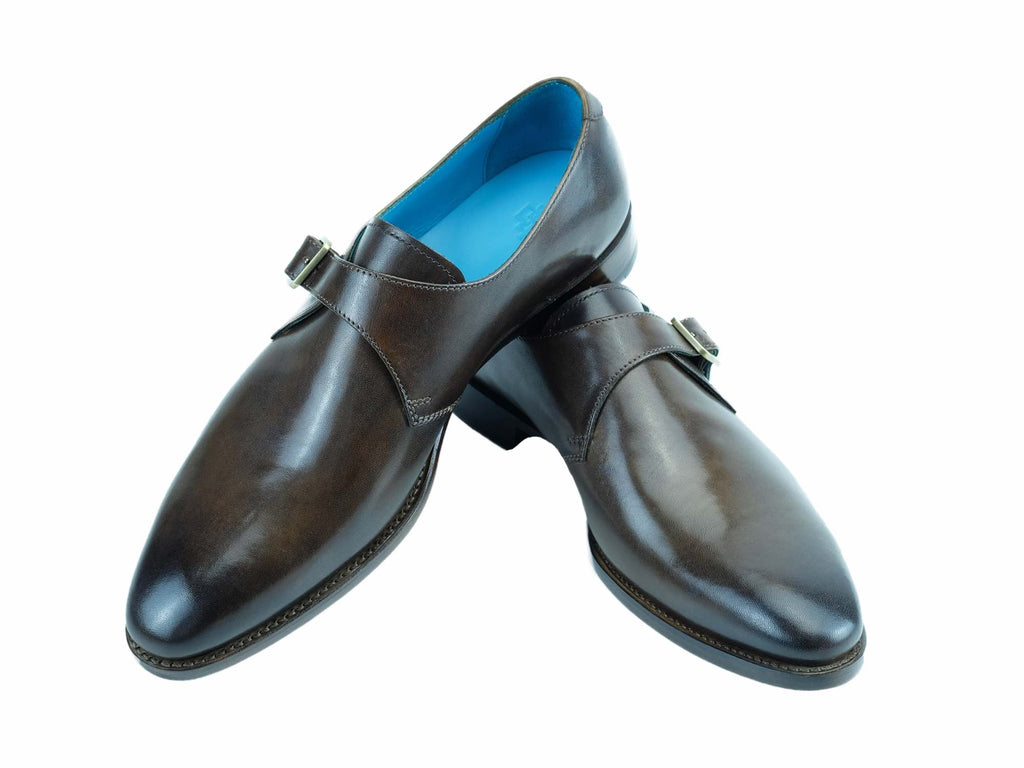 Minister single monk shoes by Dominique Saint Paul