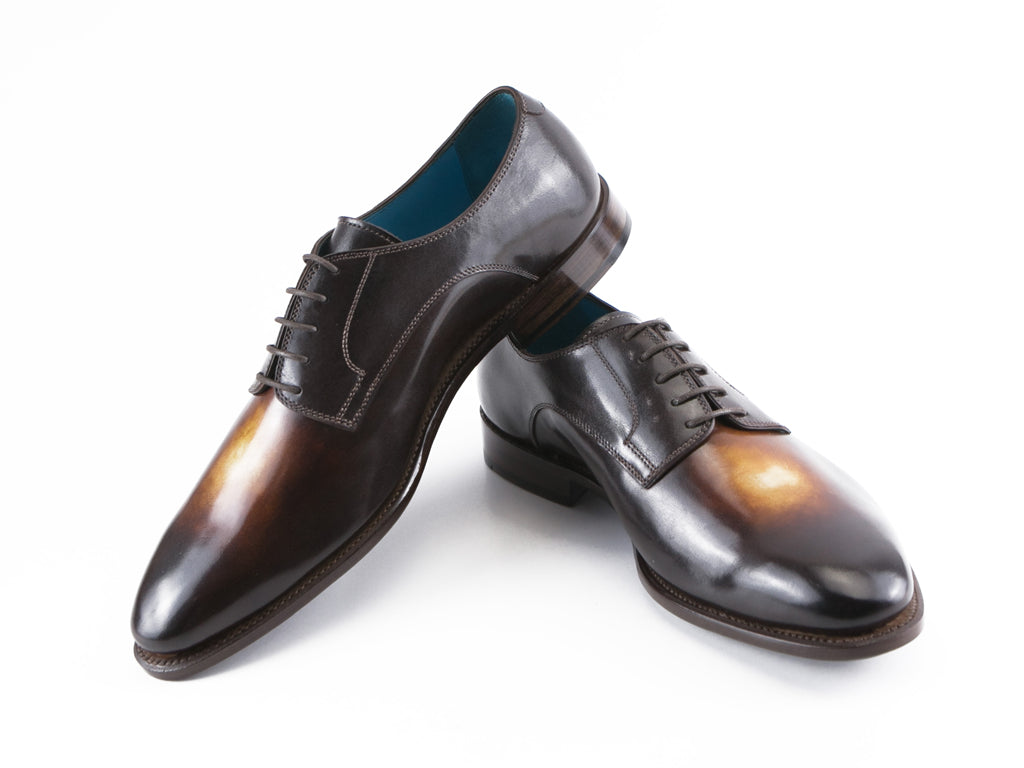 Pert Derby classic shoes in winter twilight patina