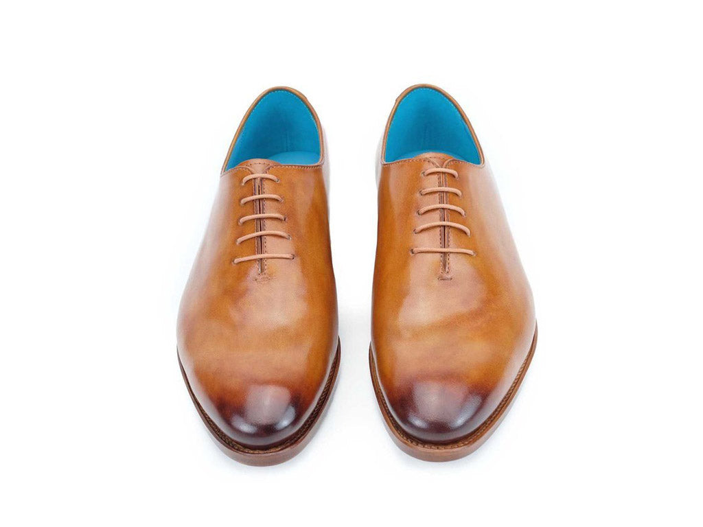 The Aristocrat whole cut shoes in Saigon leather patina