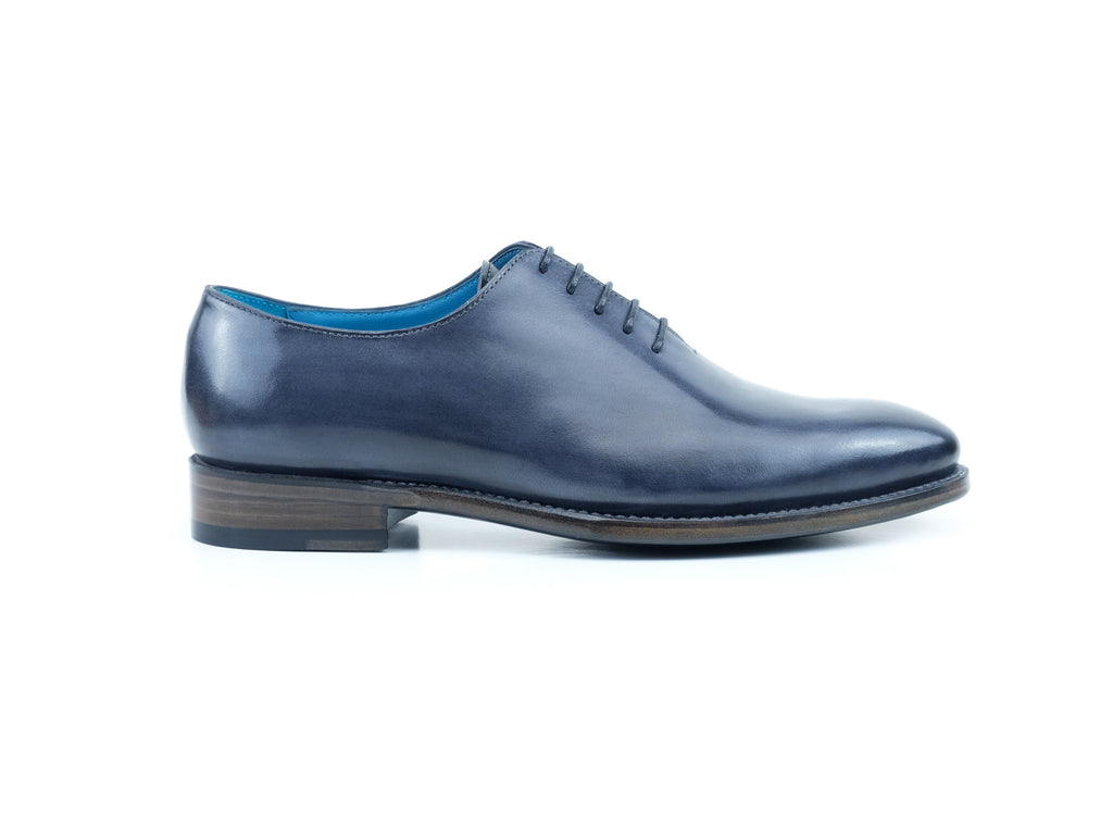 The Aristocrat whole cut dress shoes in ironstone patina