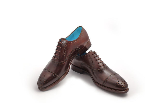 The Citizen half brogues custom made by Dominique Saint Paul