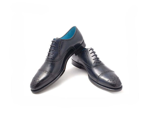 MADE TO ORDER CITIZEN SHOES MIDNIGHT BLUE PATINA