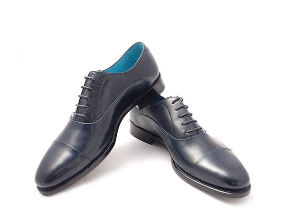 MADE TO ORDER CLASSIC SHOES MIDNIGHT BLUE PATINA