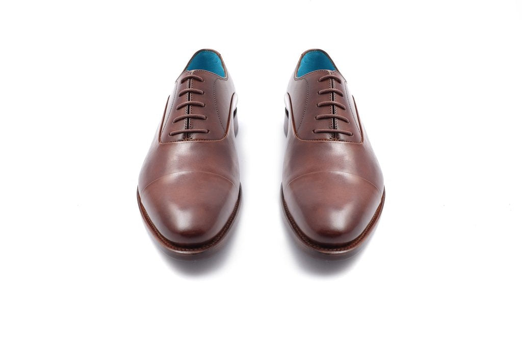 MADE TO ORDER CLASSIC SHOES CHOCOLATE PATINA