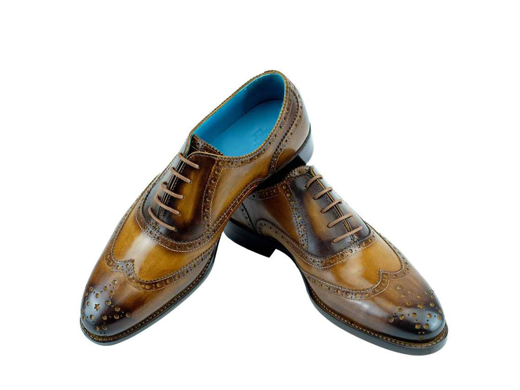 The Countryman full brogue dress shoes custom made colours