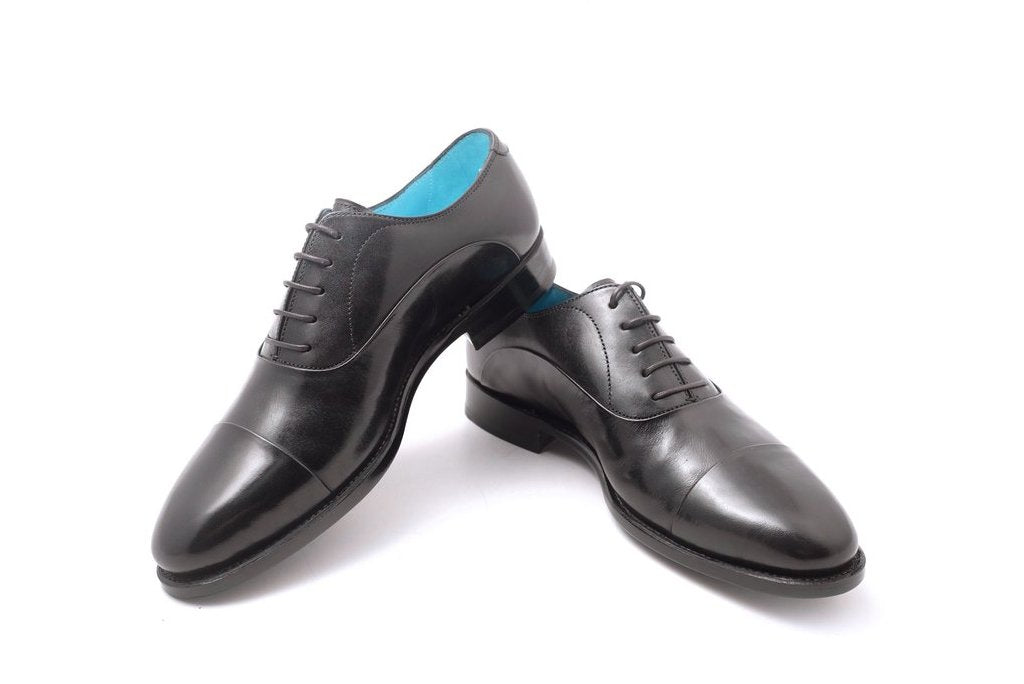 MADE TO ORDER CLASSIC SHOES BLACK PATINA