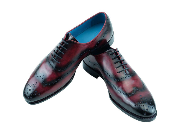 Vincent whole cut shoes in harvest patina custom made color