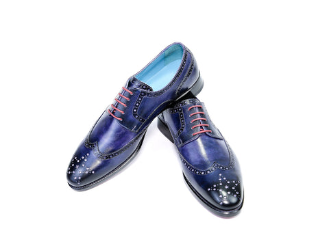 WANG TAI SHOES - PURPLE PATINA - READY TO WEAR (39 EE)