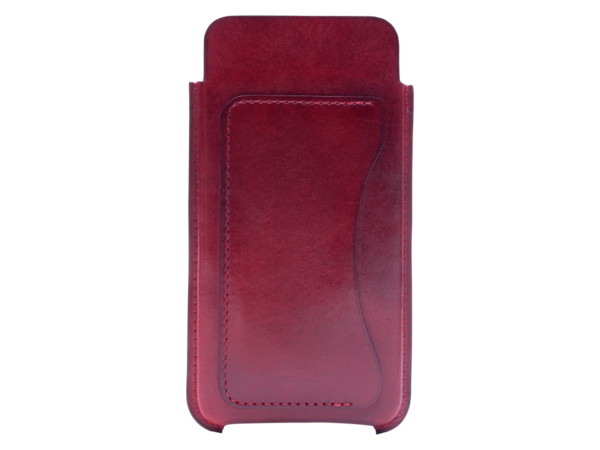 Leather case for iPhone 6 or 7 custom made in premium italy leather