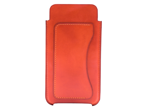 The Iphone 6 case hand made by Italy leather dominique saint paul
