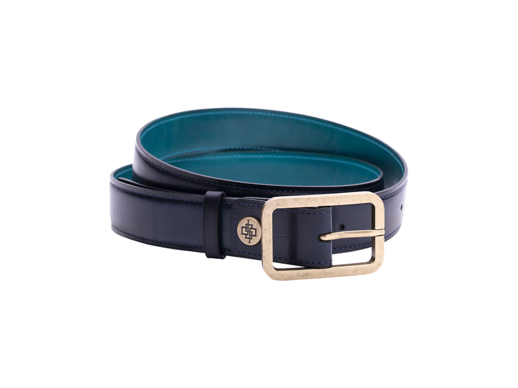 Italy leather belt handcrafted Dominique Saint Paul Saigon