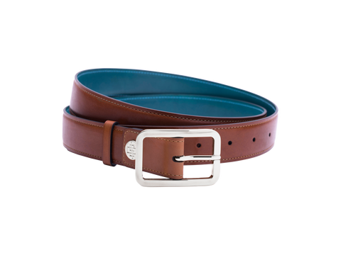 London tan belt made in saigon Dominique Saint Paul