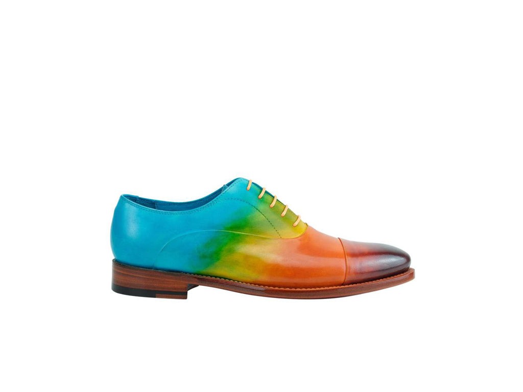 The Classic Oxford shoes in rainbow patina