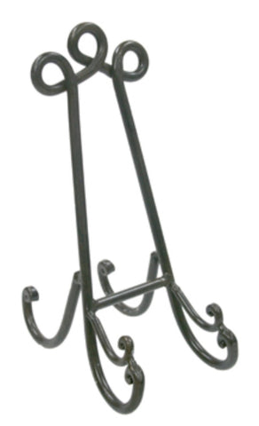 Iron plate stand dark brown