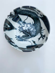 Japanese Dragon Bowl- Medium