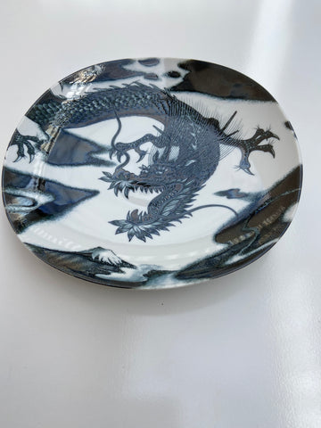 Japanese Dragon Plate-Medium