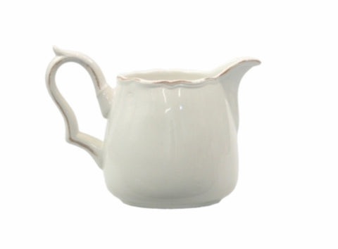 Milk jug white