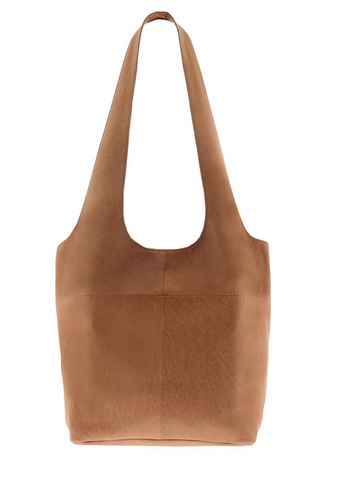 Soft Leather Tote - Tan