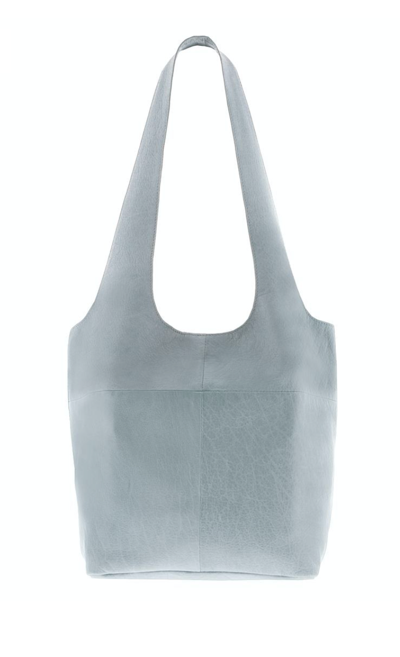Soft Leather Tote - Mist