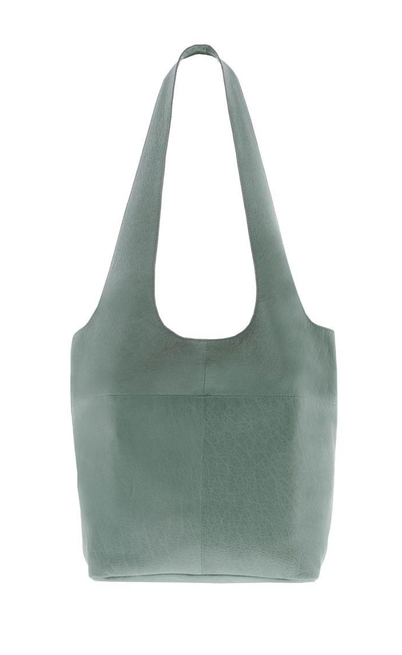 Soft Leather Tote - Sea