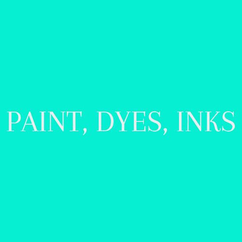 Paint, Dyes & Inks